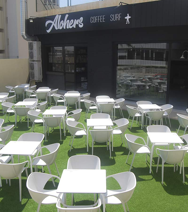 terraza hamburgueseria alicante